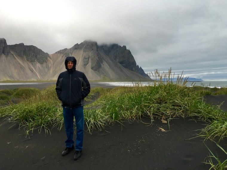 Mike at Stokksnes