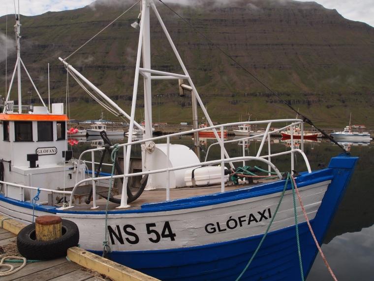 marina at Seyðisfjörður