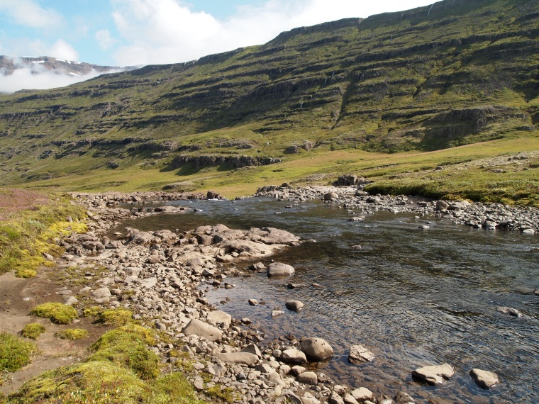 the river Fjarðará