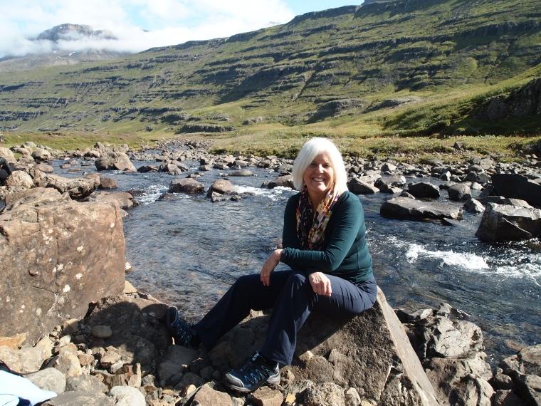 me at Fjarðará