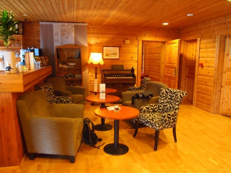 lobby at Hotel Framtíð