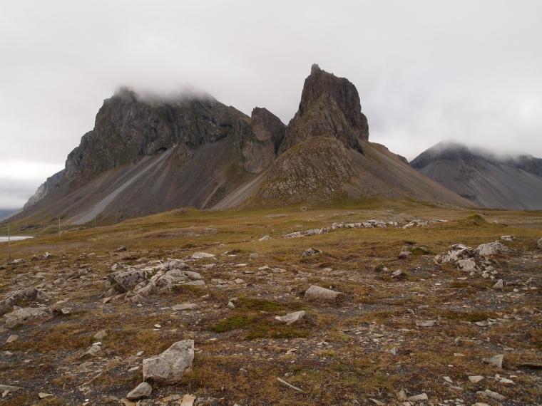 rocky peak at Lón