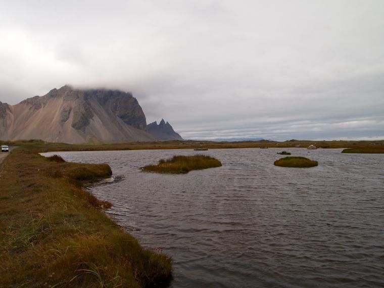 view of Vestrahorn from Stokksnes