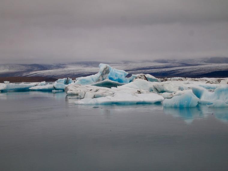 Arrival at Jökulsárlón Glacier Lagoon