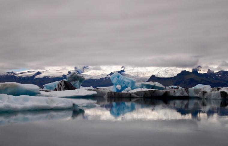 odd-shaped icebergs