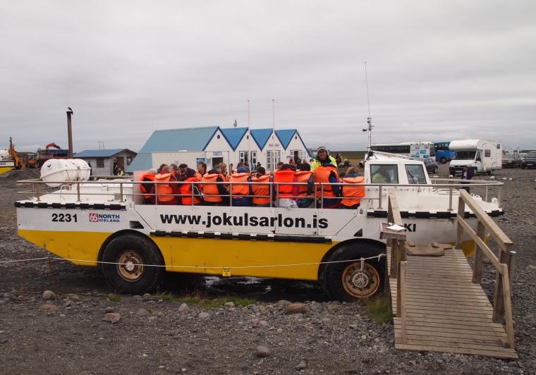 The other tour company - Glacier Lagoon Amphibious Boat Tours