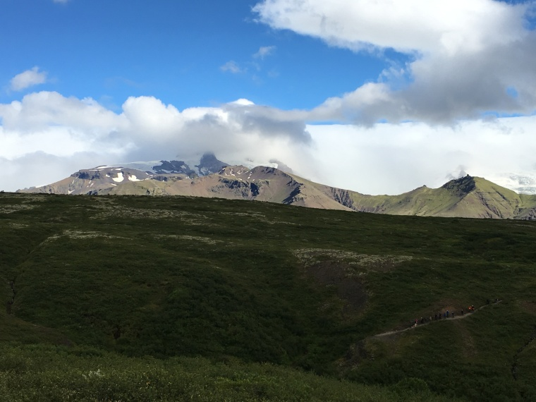view from Sjónarsker