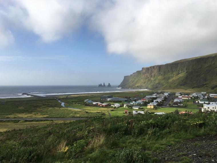 view from Vikurkirkja