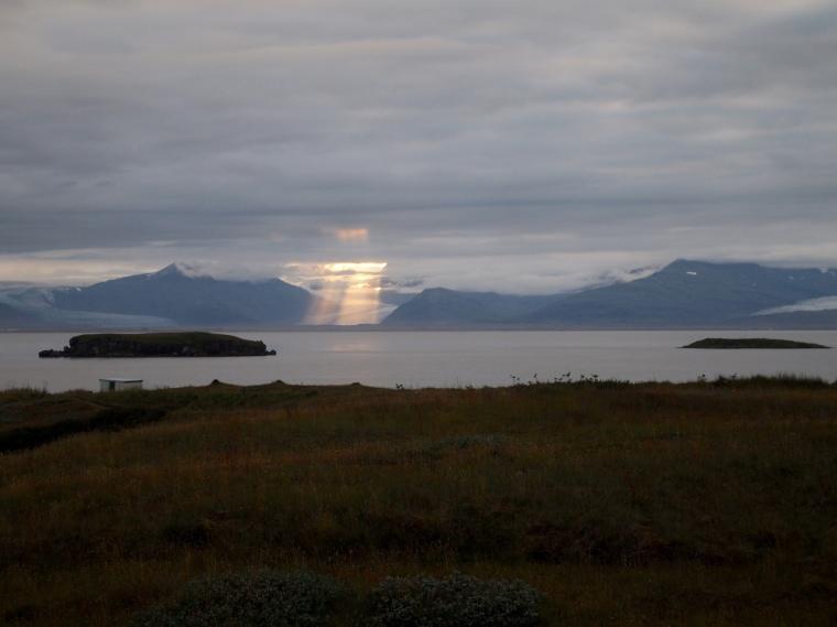 The glacier tongues around Hornafjörður