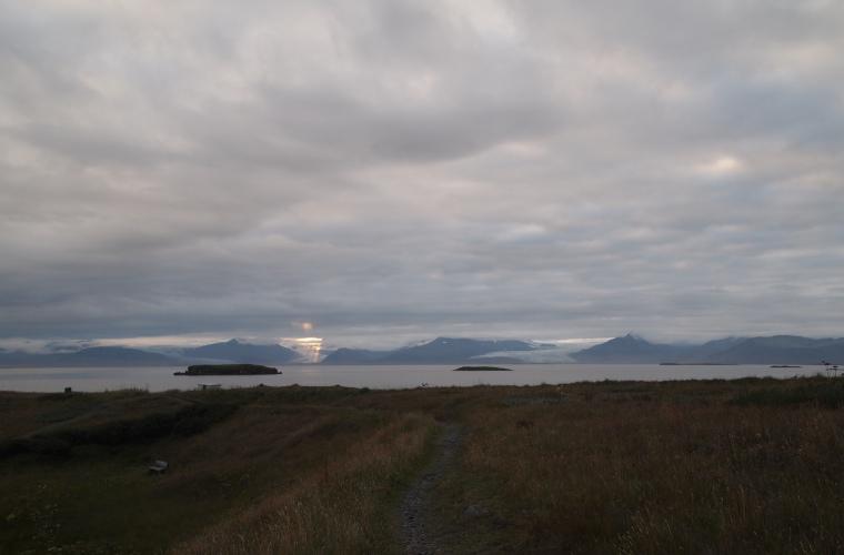 glacier tongues around Hornafjörður
