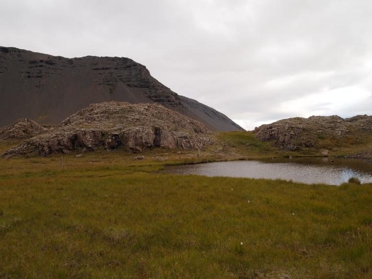 Ring Road landscape along southeast Iceland
