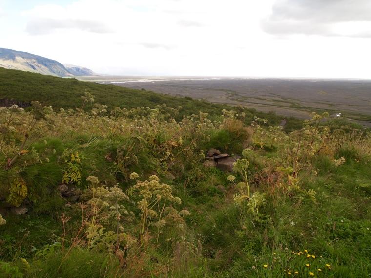 final views at Vatnajökull National Park