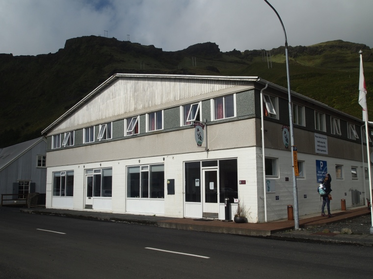 Puffin Hotel in Vik