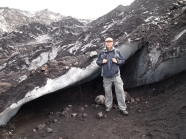 Mike at Sólheimajökull