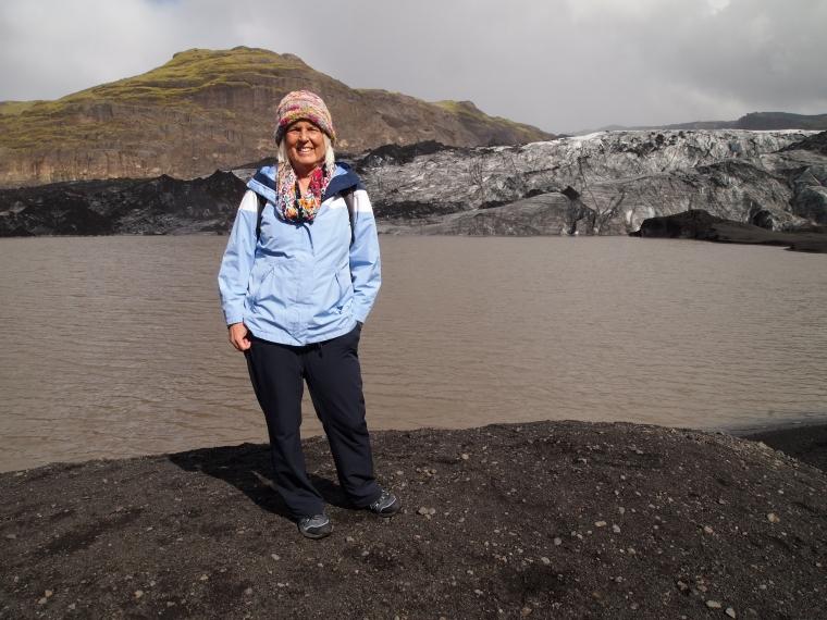 me at Sólheimajökull
