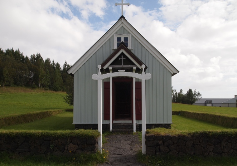 Skógar Church