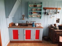 kitchen in Skal farmhouse
