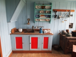kitchen in Skal farmhouse