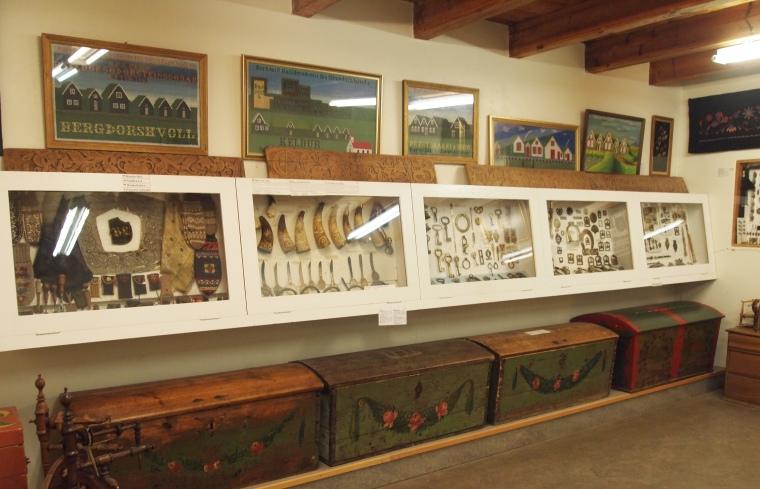 display in the Folk Museum