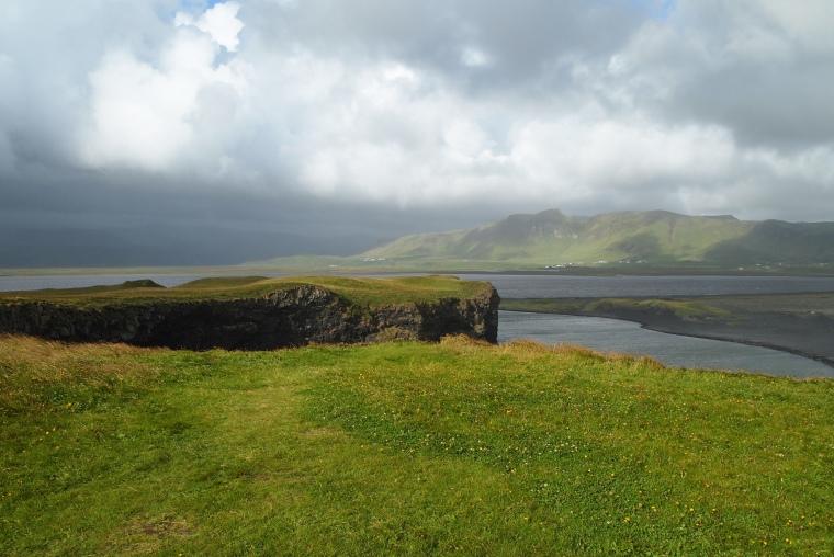 view from Dyrhólaey