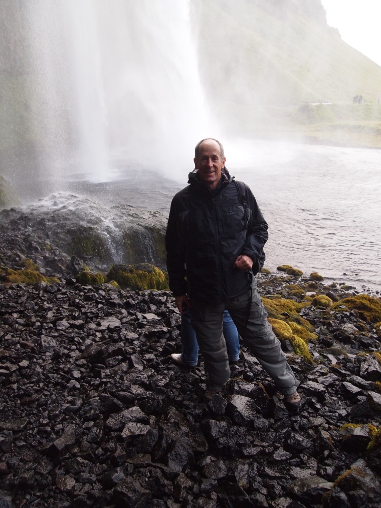 Mike at Seljalandsfoss