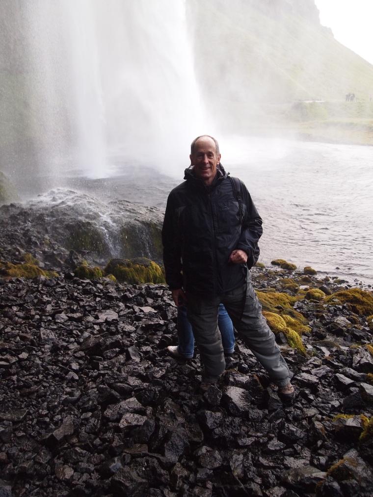 Mike at Seljalandsfoss