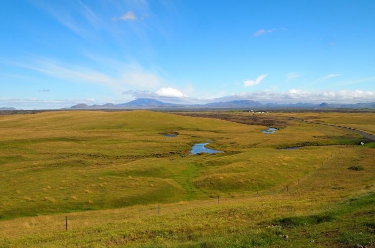 scenery along the route to Keldur