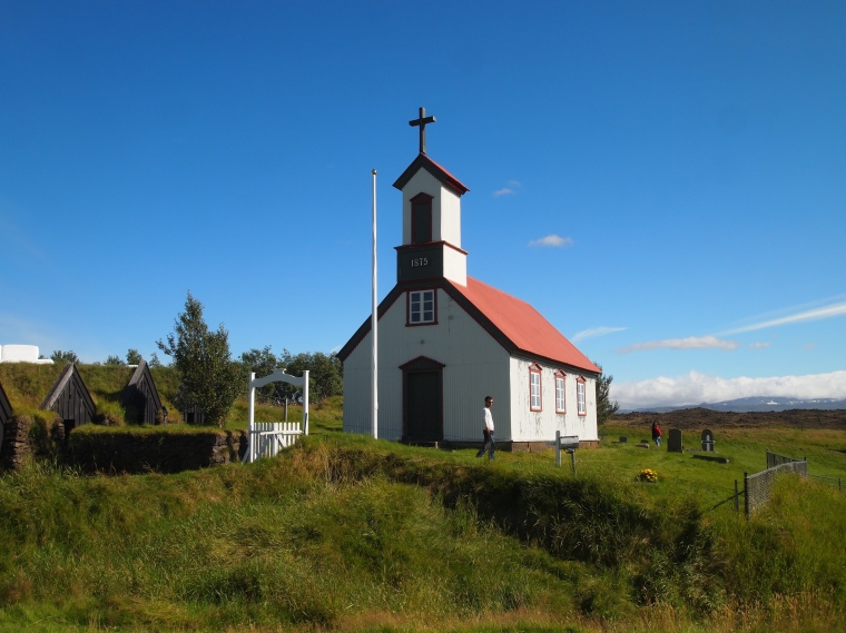 Church at Keldur