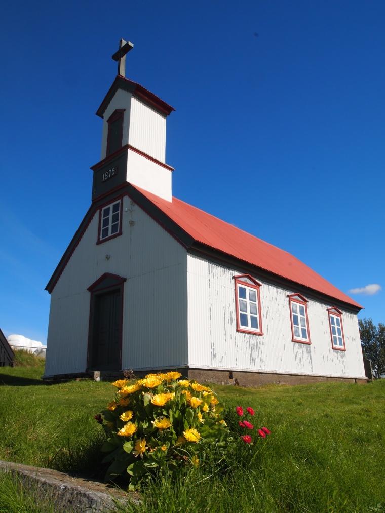 church at Keldur