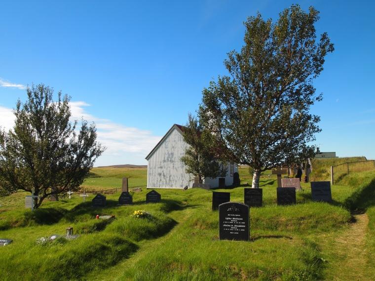 cemetery at Keldur