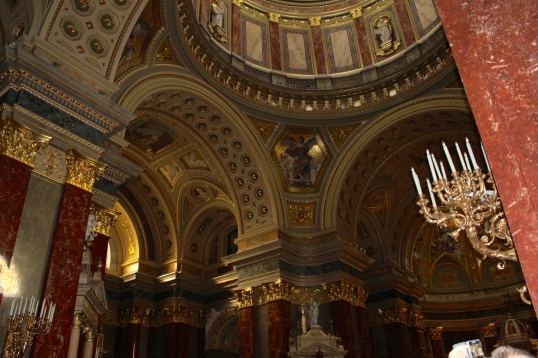 Interior of St. Stephen's Basilica