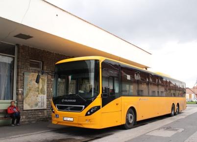 Esztergom's decrepit bus station