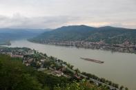 The Danube from Fellegvár