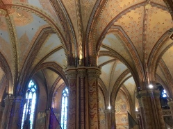 Interior of Matthias Church