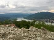 view from Fellegvár
