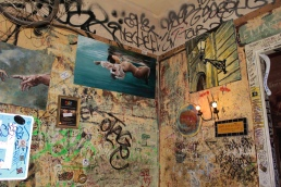 walls at Szimpla Kert
