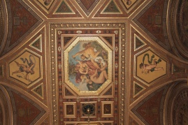 ceiling of The Feszty Bar