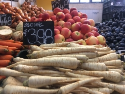 parsnips and apples