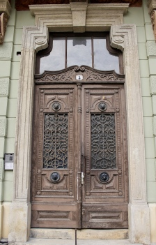 door in Sopron