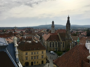 Sopron from the Firewatch Tower