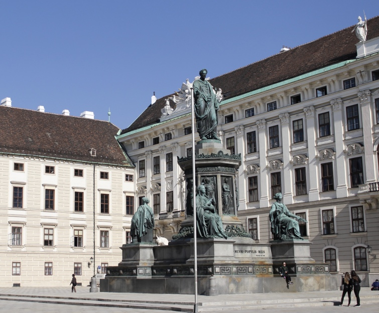 square at Hofburg Imperial Apartments