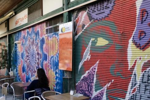 street art at Naschmarkt