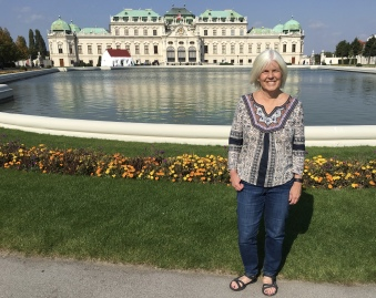 me at Schloss Belvedere