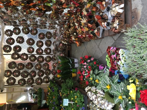 Flower shop in Sopron