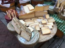 cheeses at Naschmarkt