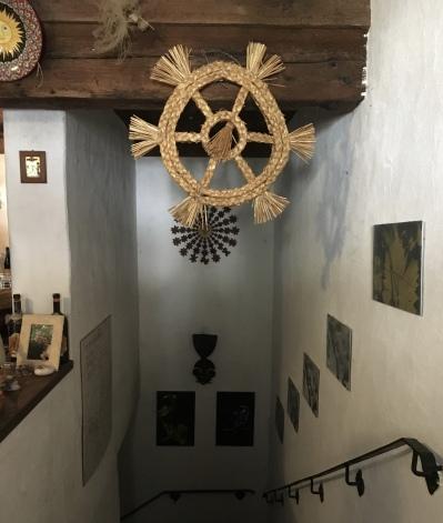 going into the cellar