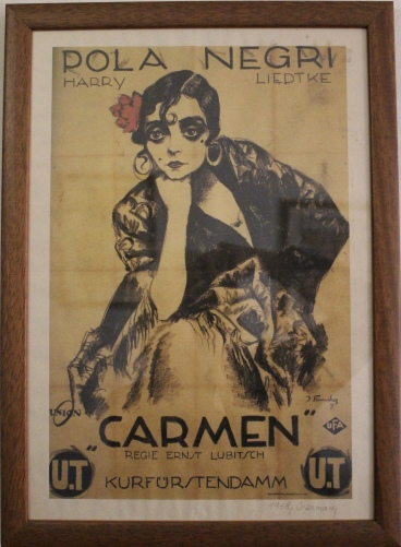 Movie poster - Carmen
