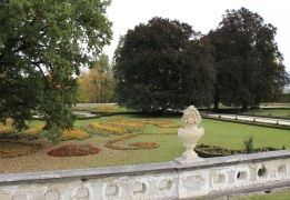 Gardens at Český Krumlov State Castle