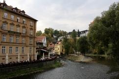 view down the Vltava River