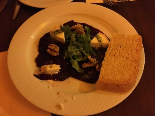 dinner at Restaurant Terasa